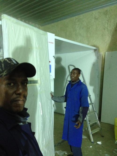 Installation in Tanzania